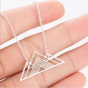 ***NEW*** Geometric Mountains Necklace